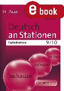 Cover-Bild zu Deutsch an Stationen. Rechtschreibung 9-10 (eBook) von Röser, Winfried