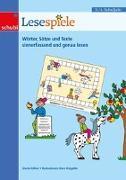 Cover-Bild zu Lesespiele 3./4. Schuljahr. Wörter, Sätze und Texte sinnerfassend und genau lesen. Kopiervorlage von Küfner, Gisela