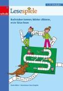 Cover-Bild zu Lesespiele 1./2. Schuljahr. 17 Lernspiele rund ums Lesen. Kopiervorlagen von Küfner, Gisela