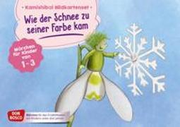 Cover-Bild zu Wie der Schnee zu seiner Farbe kam. Kamishibai Bildkartenset von Bohnstedt, Antje (Illustr.)