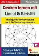Cover-Bild zu Denken lernen mit Lineal und Bleistift (eBook) von Junga, Michael