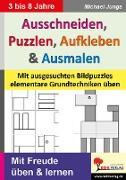 Cover-Bild zu Ausschneiden, Puzzeln, Aufkleben, Ausmalen (eBook) von Junga, Michael