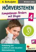 Cover-Bild zu Hörverstehen / Klasse 4 (eBook) von Junga, Michael