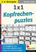 Cover-Bild zu 1x1 Kopfrechenpuzzles (eBook) von Junga, Michael