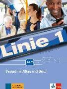 Cover-Bild zu Linie 1 A1.2. Kurs- und Übungsbuch mit Video und Audio auf DVD-ROM von Harst, Eva