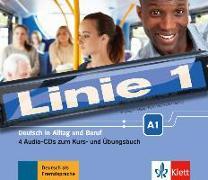 Cover-Bild zu Linie 1 A1 - 4 Audio-CDs zum Kurs- und Übungsbuch von Harst, Eva