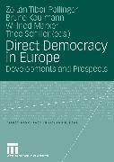 Cover-Bild zu Direct Democracy in Europe (eBook) von Pállinger, Zoltán Tibor (Hrsg.)