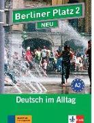 """Cover-Bild zu Berliner Platz 2 NEU - Lehr- und Arbeitsbuch 2 mit 2 Audio-CDs und """"Treffpunkt D-A-CH"""" von Lemcke, Christiane"""