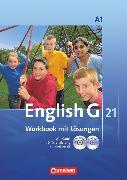 Cover-Bild zu English G 21, Ausgabe A, Band 1: 5. Schuljahr, Workbook mit CD-ROM (e-Workbook) und CD - Lehrerfassung von Seidl, Jennifer