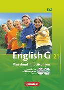 Cover-Bild zu English G 21, Ausgabe D, Band 2: 6. Schuljahr, Workbook mit CD-ROM (e-Workbook), CD - Lehrerfassung und Audios online von Seidl, Jennifer