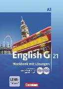Cover-Bild zu English G 21, Ausgabe A, Band 3: 7. Schuljahr, Workbook mit CD-ROM (e-Workbook) und CD - Lehrerfassung von Abbey, Susan