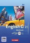 Cover-Bild zu English G 21, Ausgabe A, Band 4: 8. Schuljahr, Workbook mit CD-ROM und Audios online von Seidl, Jennifer