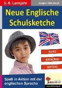 Cover-Bild zu Neue Englische Schulsketche (eBook) von Tille-Koch, Jürgen