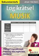 Cover-Bild zu Logikrätsel MUSIK (eBook) von Tille-Koch, Jürgen