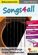 Cover-Bild zu Songs4all (eBook) von Tille-Koch, Jürgen