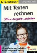 Cover-Bild zu Mit Texten rechnen (eBook) von Tille-Koch, Jürgen