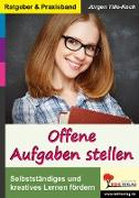Cover-Bild zu Offene Aufgaben stellen (eBook) von Tille-Koch, Jürgen