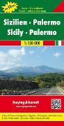 Cover-Bild zu Sizilien - Palermo, Top 10 Tips, Autokarte 1:150.000. 1:150'000 von Freytag-Berndt und Artaria KG (Hrsg.)