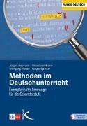Cover-Bild zu Methoden im Deutschunterricht von Baurmann, Jürgen