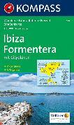 Cover-Bild zu KOMPASS Wanderkarte Ibiza, Formentera. 1:50'000