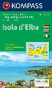 Cover-Bild zu KOMPASS Wanderkarte Isola d' Elba. 1:25'000