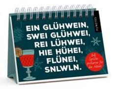 Cover-Bild zu myNOTES Postkarten-Adventskalender / Ein Glühwein, swei Glühwei, rei Lühwei