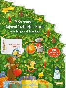 Cover-Bild zu Mein erstes Adventskalender-Buch zum Suchen und Schmücken - Mit 24 Türchen und Spiel-Stickern von Wissmann, Maria