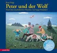 Cover-Bild zu Peter und der Wolf von Voigt, Erna