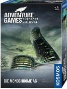 Cover-Bild zu Adventure Games - Die Monochrome AG