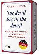 Cover-Bild zu The devil lies in the detail von Littger, Peter