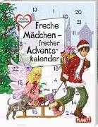 Cover-Bild zu Freche Mädchen - freche Bücher!: Freche Mädchen - frecher Adventskalender von Brinx