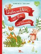 Cover-Bild zu Weihnachten mit Fuchs und Schweinchen von Herzog, Annette