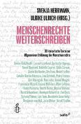 Cover-Bild zu Menschenrechte Weiterschreiben von Herrmann, Svenja (Hrsg.)