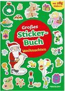 Cover-Bild zu Großes Sticker-Buch. Weihnachten von Schmidt, Sandra (Illustr.)