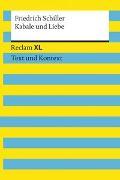 Cover-Bild zu Kabale und Liebe. Textausgabe mit Kommentar und Materialien von Schiller, Friedrich