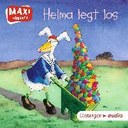 Cover-Bild zu Krause, Ute: MAXI Helma legt los (Audio Download)