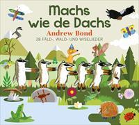 Cover-Bild zu Machs wie de Dachs. Musik-CD