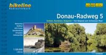 Cover-Bild zu Esterbauer Verlag (Hrsg.): Donauradweg / Donau-Radweg 5. 1:120'000