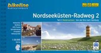 Cover-Bild zu Esterbauer Verlag (Hrsg.): Nordseeküsten-Radweg. 1:75000 / Nordseeküsten-Radweg 2. 1:50'000
