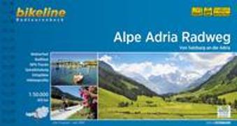 Cover-Bild zu Esterbauer Verlag (Hrsg.): Alpe Adria Radweg. 1:50'000