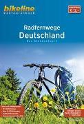 Cover-Bild zu Esterbauer Verlag (Hrsg.): RadFernWege Deutschland. 1:500'000