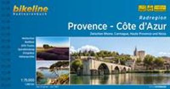 Cover-Bild zu Esterbauer Verlag (Hrsg.): Radregion Provence - Côte d'Azur. 1:75'000