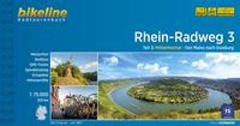 Cover-Bild zu Esterbauer Verlag (Hrsg.): Rhein-Radweg / Rhein-Radweg Teil 3. 1:75'000