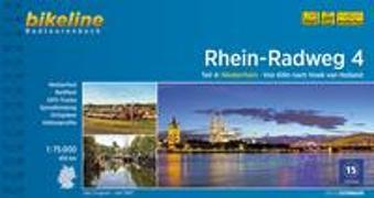 Cover-Bild zu Esterbauer Verlag (Hrsg.): Rhein-Radweg / Rhein-Radweg Teil 4. 1:75'000