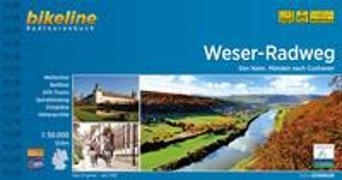 Cover-Bild zu Esterbauer Verlag (Hrsg.): Weser-Radweg. 1:50'000