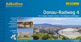 Cover-Bild zu Esterbauer Verlag (Hrsg.): Donauradweg / Donau-Radweg 4. 1:75'000