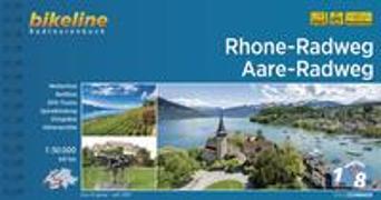 Cover-Bild zu Esterbauer Verlag: Rhone-Radweg ? Aare-Radweg. 1:50'000