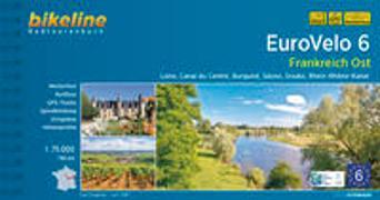 Cover-Bild zu Esterbauer Verlag (Hrsg.): Eurovelo 6 Frankreich Ost. 1:75'000
