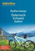 Cover-Bild zu Esterbauer Verlag (Hrsg.): RadFernWege Österreich, Schweiz, Italien. 1:500'000