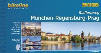 Cover-Bild zu Esterbauer Verlag: München-Regensburg-Prag Radfernweg. 1:50'000